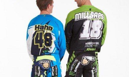 Wil Hahn #48 e Davi Millsaps #18: Monster Energy Kawasaki - Foto: Simon Cudby