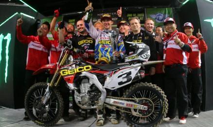 Eli Tomac venceu pela primeira vez na categoria principal