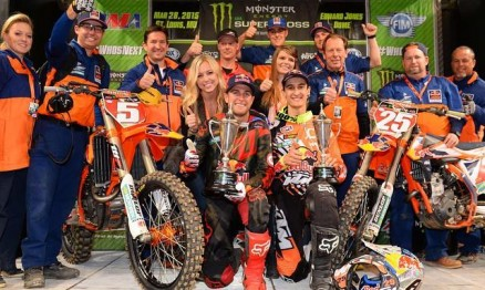 Resultados da 13a etapa do AMA Supercross 2015 em St. Louis