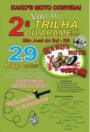 Trilha do Arame ocorre domingo em São José do Sul