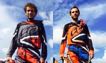 Os irmãos Lucas (direita) e Mateus (esquerda) Basso são aniversariantes desta semana. Foto: Luiz Schuster