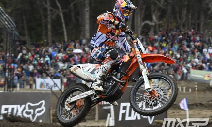 Pauls Jonass está conquistando o título de consistência na MX2.
