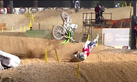 Vídeo Cassetada do Mundial de Motocross no Qatar