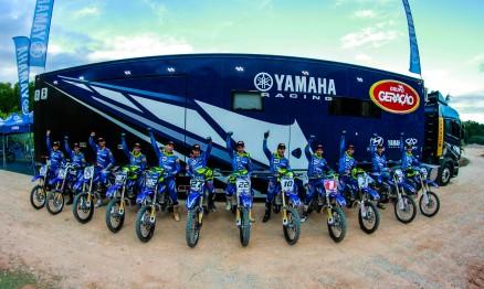Time conta com 12 pilotos nas modalidades de motocross, rally e enduro.