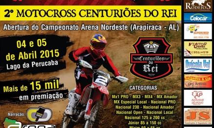 Arena Nordeste de Motocross 2015 começa neste final de semana em Arapiraca