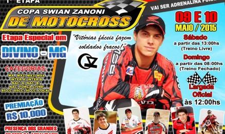 Minas Gerais terá Copa de MX em homenagem a Swian Zanoni