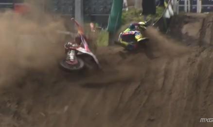 Vídeo Cassetada do Mundial de Motocross na Holanda