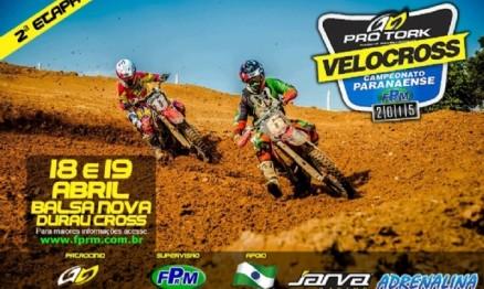Neste final de semana acontece a segunda etapa do Campeonato Paranaense de Velocross