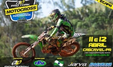 Cascável abre a temporada 2015 do Paranaense de Motocross neste final de semana