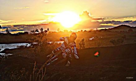 O pôr do sol alagoano deu um colorido diferente às competições.