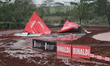 Chuva força o cancelamento do Rinaldi Gaúcho de Motocross em Três de Maio
