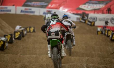 Jacob Hayes tinha vantagem na pontuação mas um problema na moto o atrapalhou.