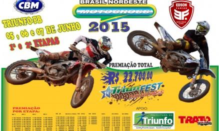 Triunfo, na Paraíba, recebe as 1ª e 2ª etapas do Brasil Nordeste de Motocross