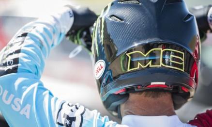 """O Motocross é um esporte muito saudável. Existem muitos garotos jovens surgindo que são realmente muito bons."""" – Foto: Garth Milan"""