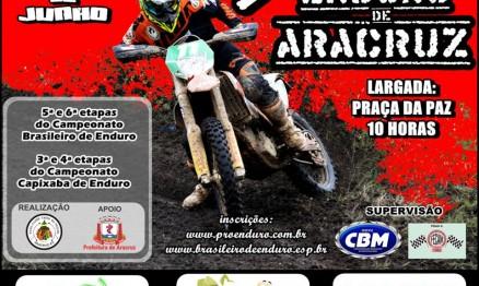 Tudo pronto para o 3° Enduro de Aracruz, válido pelo Campeonato Brasileiro