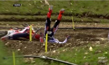 Vídeo Cassetada do Mundial de Motocross na França