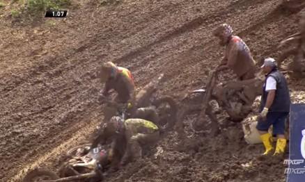 Vídeo Cassetada do Mundial de Motocross em Maggiora