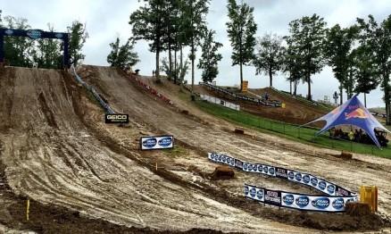 Chuva atrasa treinos da 6a etapa do AMA Motocross em Budds Creek