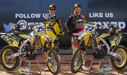 Pilotos da Rockstar Energy Suzuki World MXGP enfrentam lesões