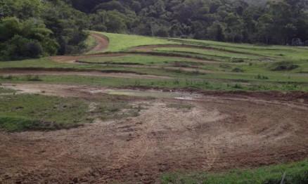 Uma pequena parte do circuito em Maricá.