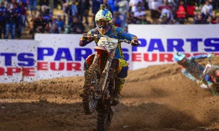 Antonio Cairoli fora do Mundial de Motocross