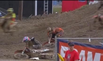 Vídeo Cassetada do AMA Motocross 2015 em Budds Creek