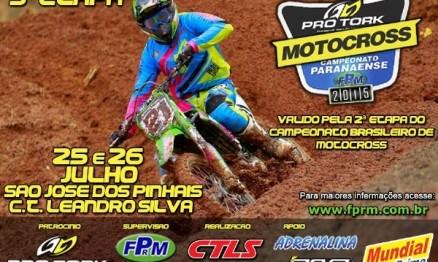 Paraná recebe 2ª etapa do Brasileiro de Motocross neste fim de semana