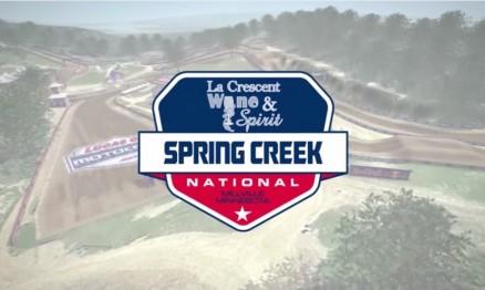 Vídeo – Volta virtual AMA Motocross 2015 em Spring Creek
