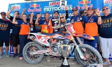 Resultados da 11a etapa do AMA Motocross em Utah