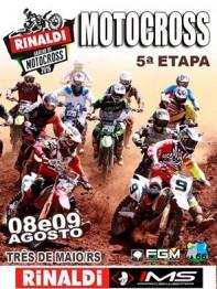 Gaúcho de motocross novamente em Três de Maio