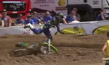 Vídeo Cassetada do Mundial de Motocross em Lommel