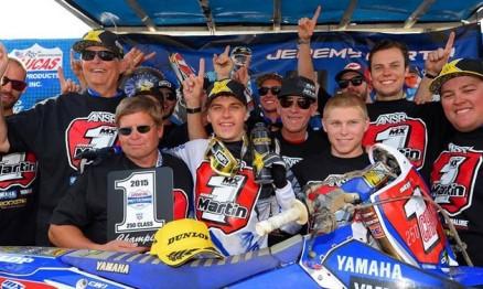 Resultados da 12a etapa do AMA Motocross em Indiana