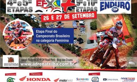 Inscrições abertas para 9ª e 10ª Etapas do BR de Enduro Fim em SP