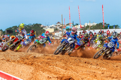 Piloto da Yamaha Grupo Geração venceu na MX1, e atleta da Equipe Honda Mobil garantiu a vitória na MX2
