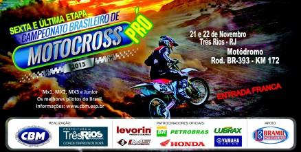 Brasileiro de Motocross define campeões no RJ neste fim de semana