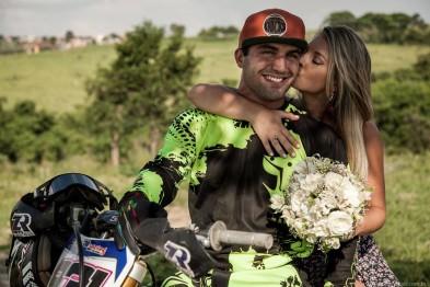Zenni e sua esposa Amanda - Foto: Facebook Oficial Rafael Zenni