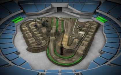Volta virtual AMA Supercross 2016 Oakland