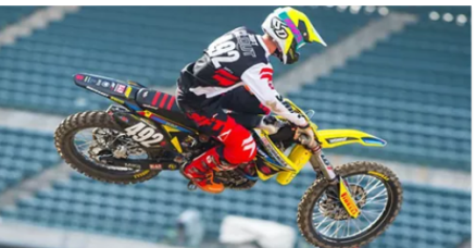 Luke Clout está fora do AMA Supercross 2016