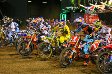 4a etapa do AMA Supercross 2016 em Oakland na íntegra