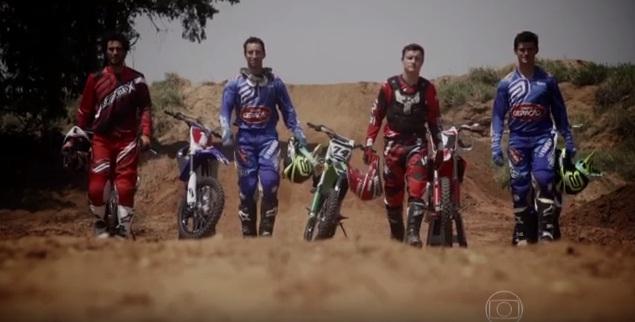 Motocross brasileiro na Rede Globo