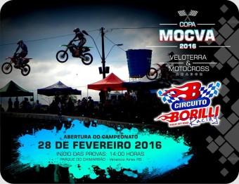 Começa domingo a Copa MOCVA 2016 de Veloterra