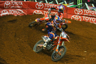 Musquin #25 e Dungey #1