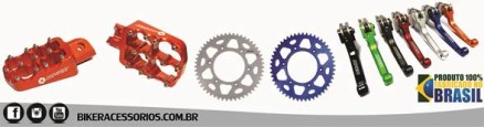 Biker Acessórios: Fábrica gaúcha apresenta guias coloridos