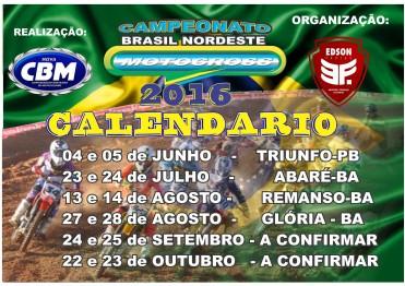Organização cancela 1ª etapa do Brasil Nordeste de Motocross