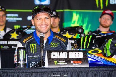 Chad Reed vai participar de etapas do Mundial de Motocross 2016