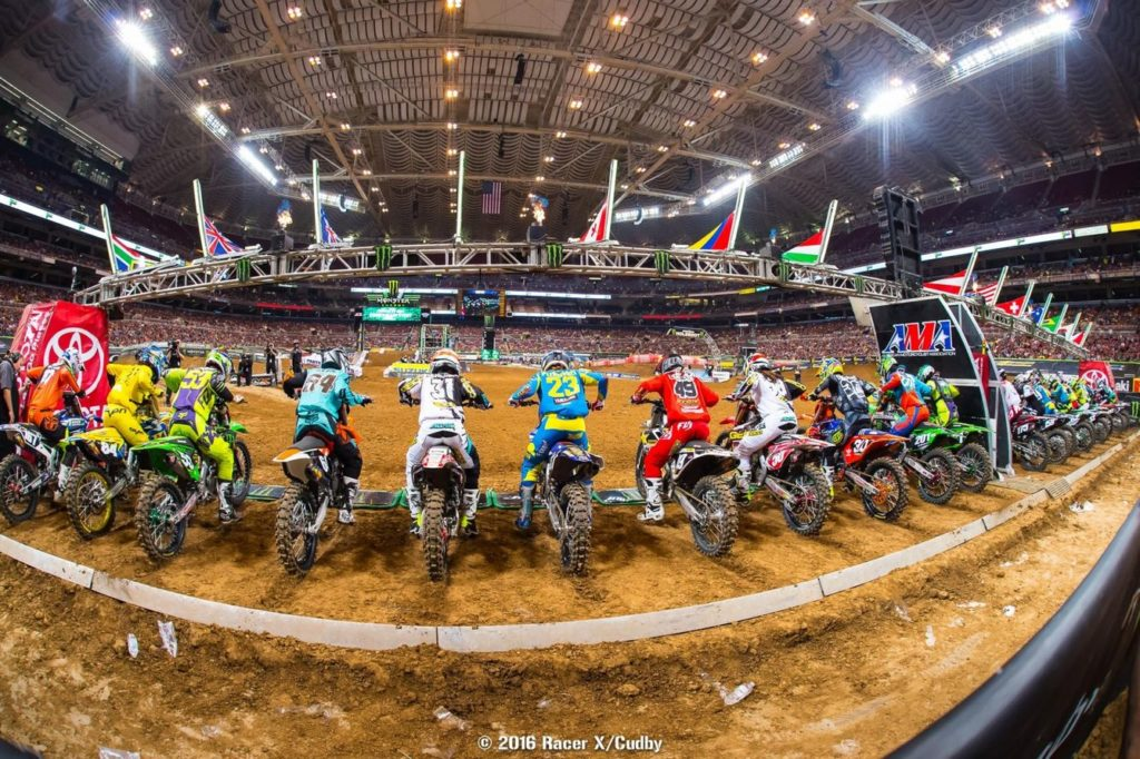 Highlights AMA Supercross 2016 – St Louis