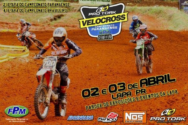 Brasileiro de Velocross acontece neste fim de semana no PR