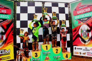 Vencedores da 3ª etapa do Gaúcho e abertura do Brasileiro de MX em Maratá