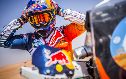 Toby Price vence primeira prova do Mundial de Rally Cross Country em Abu Dhabi