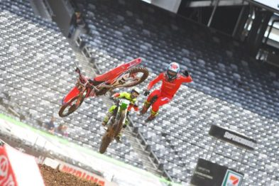 Vídeo Cassetada do AMA Supercross 2016 em East Rutherford